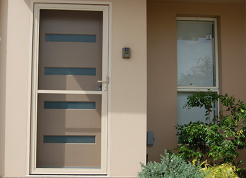 Hinged Flyscreen Door & Sydney Flyscreens - Flyscreens Security Doors Pet Products