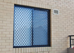 Hinged Security Door - Cast Aluminium
